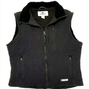 Woolrich Mens Jacket Wool Full Zip Vest Lined
